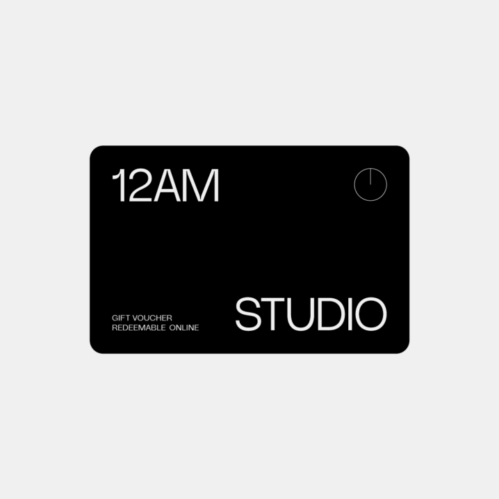 12AM STUDIO E-GIFT CARD